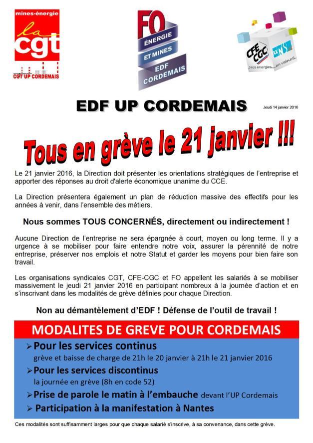 2016-01-21_grève du 21 janvier 2016 - modalités cordemais